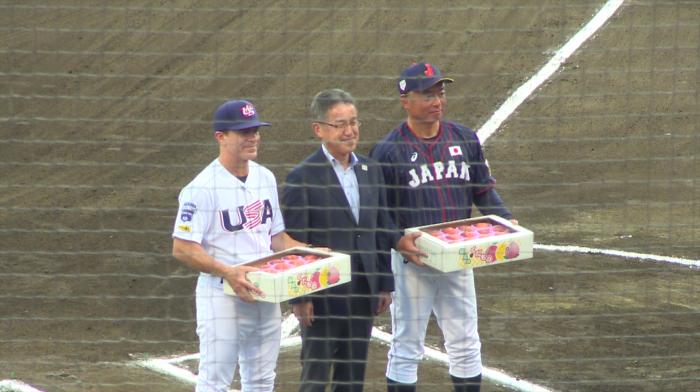 令和元年7月20日 福島県郡山市 「第43回日米大学野球選手権大会」大学日本代表チーム