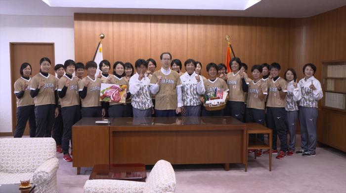 令和元年7月22日 福島県福島市 「ソフトボール女子日本代表合宿」