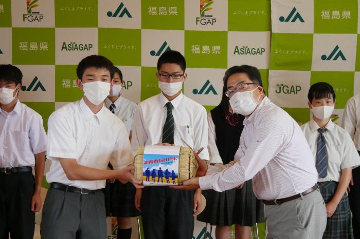 【イベント】「ふくしまこども食堂ネットワーク」へ「#青春GAP米」を贈呈しました